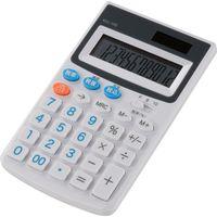 オーム電機 電卓 税率切替 HC KCL-100-W(直送品)