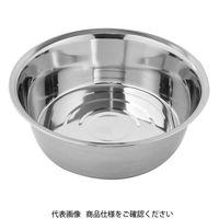 アークランドサカモト(ARCLAND SAKAMOTO) ミネックス ステンレス製 丸型洗い桶 30cm TK216 1個(直送品)