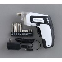 アイリスオーヤマ 充電式電動ドライバー ホワイト JDD351-W(直送品)