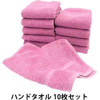 hiorie(ヒオリエ) 日本製 デイリー ハンドタオル ラズベリー 10枚(直送品)