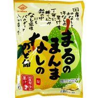 佐久間製菓 まるのまんまなしののど飴 83g×6 4901630054103 1箱(6P入)(直送品)