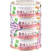 伊藤食品 美味しいツナ 水煮フレーク 70g×4缶×12 4953009113065 1箱(12P入)(直送品)