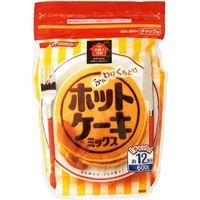 お菓子百科ふんわりホットケーキミックス 600g×12 4902110349757 1箱(12P入) 日清フーズ(直送品)