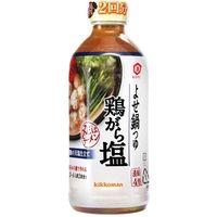 キッコーマン食品 キッコーマン よせ鍋つゆ 鶏がら塩 500ml×12 4901515350016 1箱(12P入)(直送品)