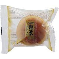 米屋 一粒栗まんじゅう 1個×6 4903040189598 1箱(6P入)(直送品)