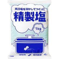 塩事業センター 精製塩 1Kg×20 4530017000053 1箱(20P入)(直送品)