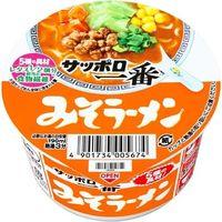 サンヨー食品 サッポロ一番 みそらーめん ミニどんぶり 47g×12 4901734005674 1箱(12P入)(直送品)