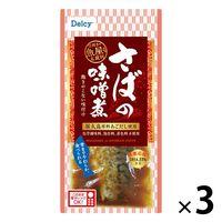日本アクセス Delcy さばの味噌煮 3個