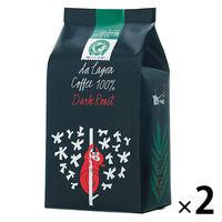 【レギュラーコーヒー粉】ダ ラゴア農園シングル粉 ダークロースト 1セット(250g×2袋)
