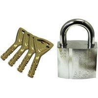 【錠前・カギ】共栄工業 ABLOY PadLock PL330N/25 5本キー PL330N25 1パック(直送品)