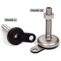 鍋屋バイテック レベリングアジャスタ FNAMS-100-M20-200-B1-UK(直送品)