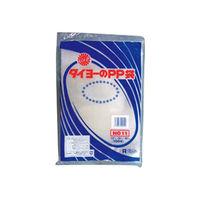 中川製袋化工 タイヨーのPP袋 0.05×11号 108261 3000枚(100×30)(直送品)