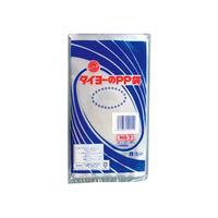 中川製袋化工 タイヨーのPP袋 0.05×7号 108258 6000枚(100×60)(直送品)
