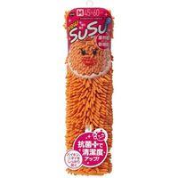 山崎産業 SUSUロール抗菌 Mサイズ 45×60 オレンジ 4903180149568 1箱(1枚入)(直送品)