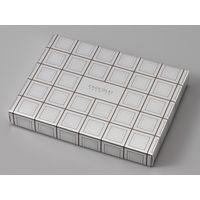 ヤマニパッケージ ミロワールショコラL(14×10) 20-2053 1ケース(100:フタ・身100枚ハチマキ)(直送品)