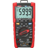 UNI-T デジタルマルチメータ IP65防水・防塵 UT195E Uni-trend Technology(ユニトレンド・テクノロジー) 1台(直送品)