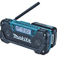 マキタ 充電式ラジオ makita MR052 AM/FMラジオ フック付き 対応バッテリーBL1040B / BL1015(直送品)