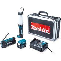 マキタ 防災用コンボキット makita CK1008 ライト/ラジオ/バッテリー/充電器 セット(直送品)