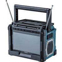 マキタ 充電式テレビ makita TV100 10インチ 防水4級 AM/FMラジオ リモコン付 対応バッテリーDC10.8V/14.4V/18V(直送品)