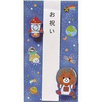 学研ステイフル お祝い ご祝儀袋金封(くま) E36123 6枚(直送品)