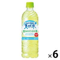 サントリー 天然水 澄みわたるお茶 600ml 1セット 6本