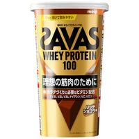 ザバス(SAVAS) ホエイプロテイン100 リッチショコラ味 14食分 1袋 明治 プロテイン
