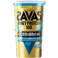 ザバス(SAVAS) ホエイプロテイン100 ヨーグルト風味 14食分 1袋 明治 プロテイン
