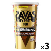 ザバス(SAVAS) ホエイプロテイン100 リッチショコラ味 14食分 1セット(3袋) 明治 プロテイン
