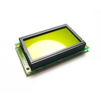 Graphic LCD 128*64 (KS0108 ctrl) ー D.Blue and Yellow Green 63-3079-46(直送品)