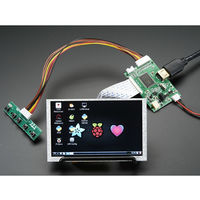 4 Pi: 5'' Display (no Touch) w/Mini Driver ー 800x480 HDMI 63-3111-59(直送品)