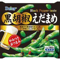 日本アクセス 業務用食材 Delcy 黒胡椒えだまめ 180g 4973460500785 (1セット12個入)(直送品)