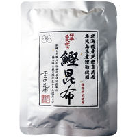 不二の昆布 鰹昆布1ケース(50袋入)北海道産天然真昆布・鹿児島県産鰹節使用 オリジナル