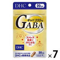 DHC ギャバ GABA 20日分 ×7袋セット ストレス対策 ディーエイチシーサプリメント