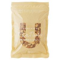 4種の素焼きミックスナッツ 400g たっぷり大容量 1袋 食塩無添加 1ケース(10袋入)