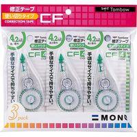 トンボ鉛筆 修正テープ モノCF4 3コパック KCA-322 5個(直送品)