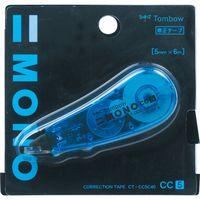 トンボ鉛筆 修正テープ モノCC5C 40 ブルー CT-CC5C40 5個(直送品)