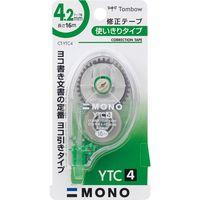 トンボ鉛筆 修正テープヨコ引き モノYTC4 CT-YTC4 10個(直送品)