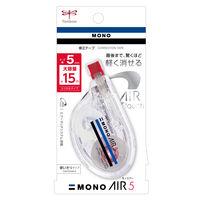 トンボ鉛筆 修正テープモノエアーヨコ引き5 CT-YA5 5個(直送品)