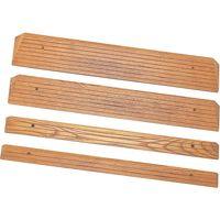 トマト 木製ミニスロープ 幅80cm TM-999-A15 H1.5cm 【歩行補助】介援隊カタログ R0102(直送品)