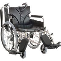 カワムラサイクル アルミ自走車いす A9_緑チェック KA822-42ELB-LO 【車いす】介援隊カタログ(直送品)