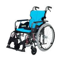 カワムラサイクル モダンB A9_緑チェック KMD-B22-42-SH 自走式 【車いす】介援隊カタログ W2216(直送品)