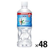 アサヒ飲料 おいしい水 天然水 長期保存水(防災備蓄用) 500ml 1セット(48本)