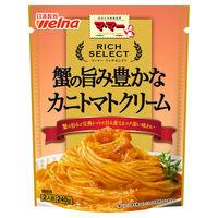 日清フーズ マ・マー リッチセレクト 蟹の旨み豊かな カニトマトクリーム 2人前 (240g) ×1個