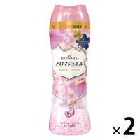 レノアハピネス アロマジュエル ラブリー&ジェントル さくらの香り 本体 520ml 1セット(2個入) 香り付け専用 P&G
