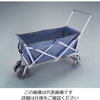 エスコ(esco) 550x1140/80kg キャリーカート(折畳式) 1台 EA520ED-41(直送品)