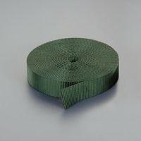 エスコ(esco) 25x1.8mm/30m 荷締機用ベルト(PE製・OD色) 1個 EA628PT-651(直送品)