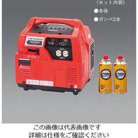 エスコ(esco) AC100V/0.9kw(DC12V)発電機(ポータブルガス6本) 1台 EA860MA-12A(直送品)