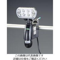 エスコ(esco) AC100V LEDセンサーライト(50Hz/カメラ付) 1台 EA864CA-200A(直送品)