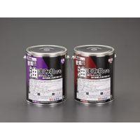 エスコ(esco) 10kg 床塗料(油床用/グレー) 1缶(10000g) EA942DP-22A(直送品)