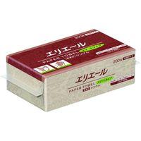 大王製紙 エリエール ペーパータオルスマートタイプ無漂白シングル200枚中判 703513 1ケース(6000枚) 146-5533(直送品)